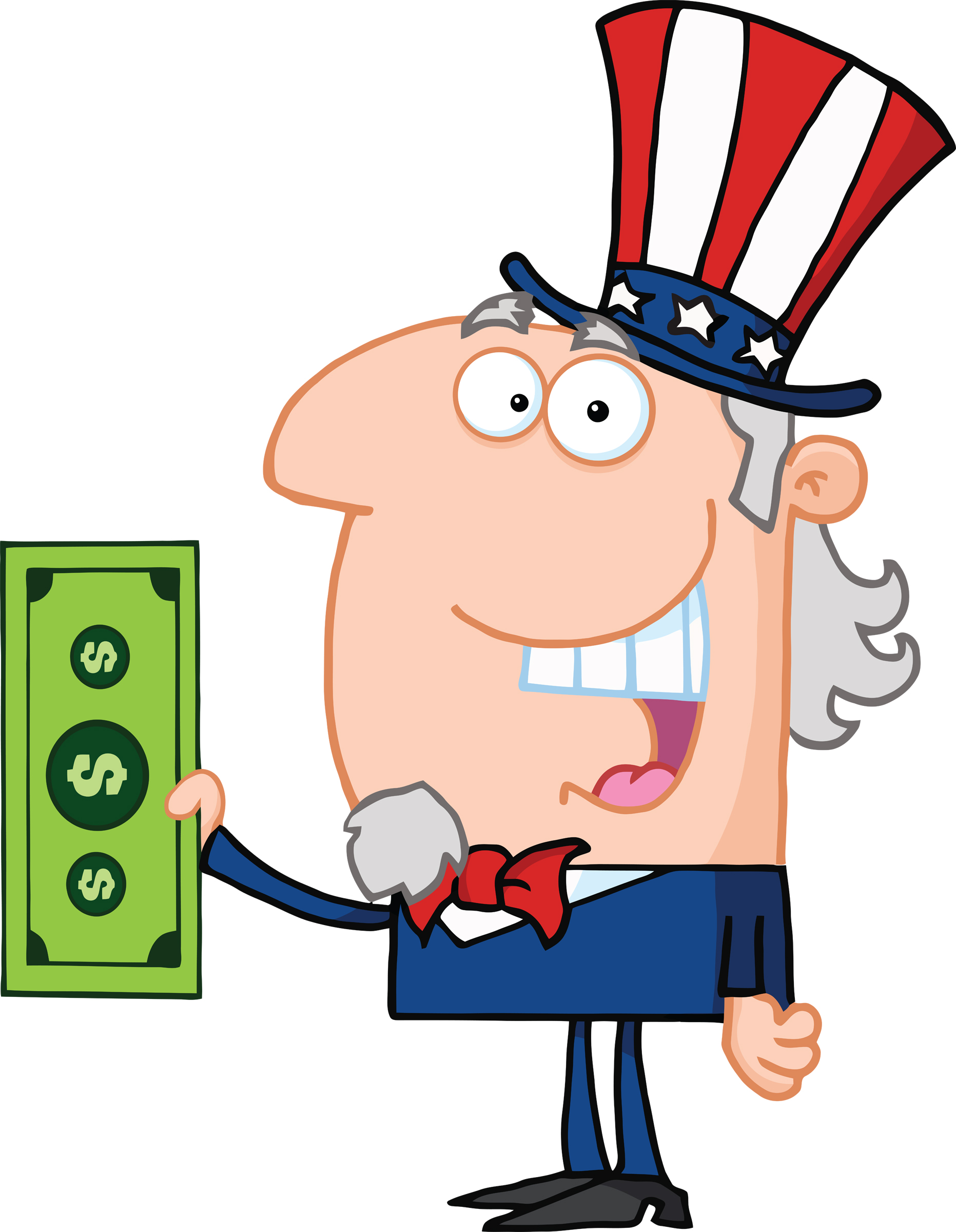 Uncle Sam clipart sales tax Images Tax Panda Free Clipart