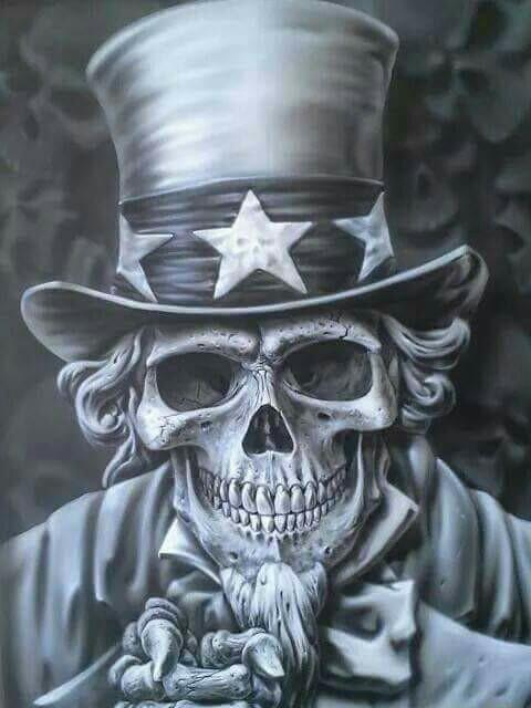 Uncle Sam clipart skeleton Skull Sam Skull Skull Pinterest