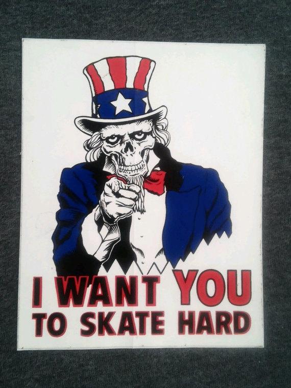Uncle Sam clipart skeleton Vintage Hard