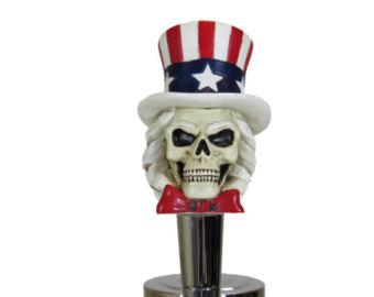Uncle Sam clipart skeleton Etsy Skeleton Handle Hand Tap