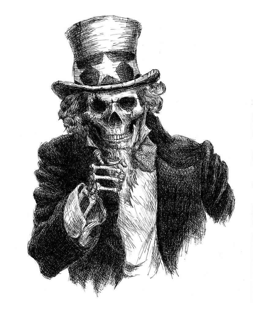 Uncle Sam clipart skeleton Uncle 2 Page Rifle Association