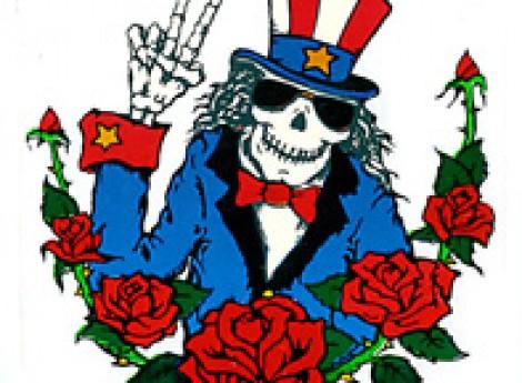 Uncle Sam clipart skeleton UNCLE HAT TOP STICKER Shack