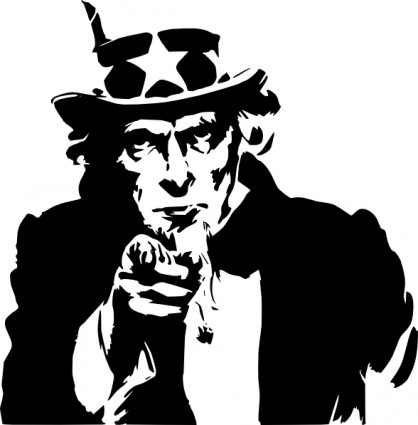 Uncle Sam clipart us history Sam Pointing Download Uncle Uncle