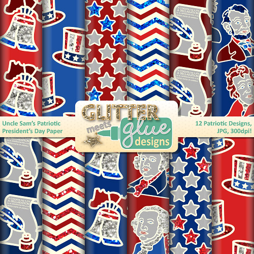 Uncle Sam clipart us history Patriotic Paper States Scrapbook United