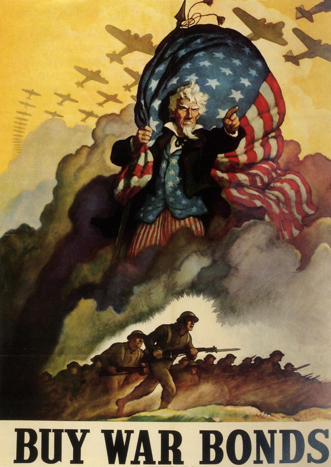 Uncle Sam clipart us history War ★ S II 1942