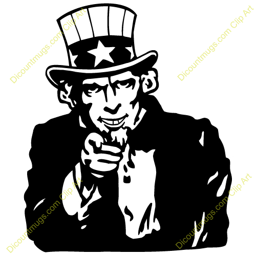 Uncle Sam clipart vector Global Related only the images
