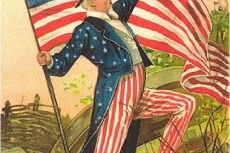 Uncle Sam clipart vintage Poster Grand agriculture vintage art