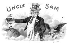 Uncle Sam clipart vintage  4th Vintage Sam Holiday