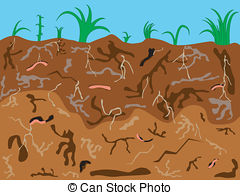 Underground clipart 26 and underground Stock Worms