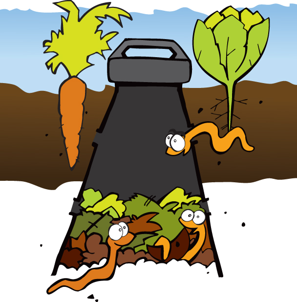 Underground clipart earthworm Worm  Farming