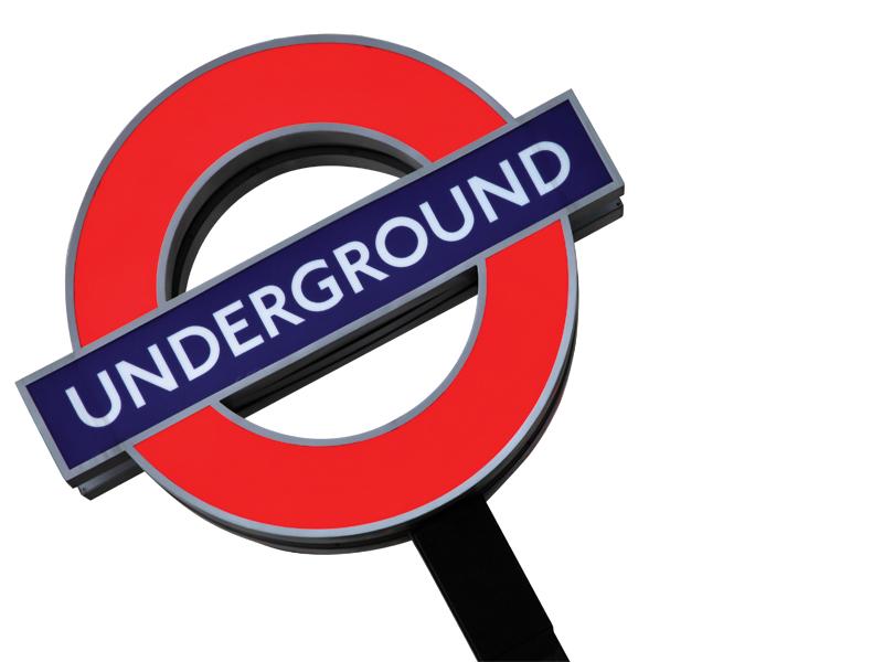 Underground clipart london england Life Magazine the as Tube