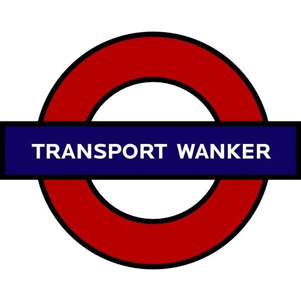 Underground clipart sign london Wankers Twitter (@transportwanker) Wankers Transport