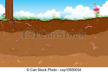 Underground clipart soil layer Layer Soil soli Layer of