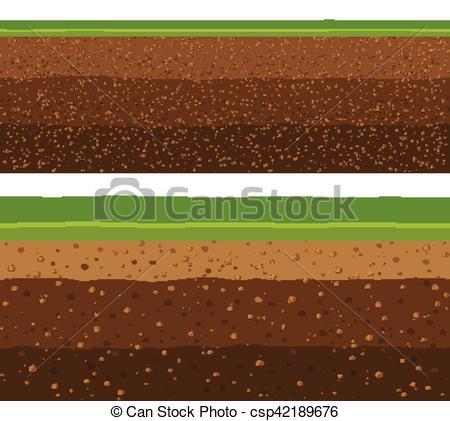 Underground clipart soil layer Of grass grass layers of