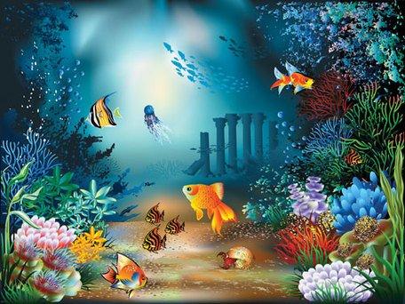Underwater clipart · Beautiful Underwater Graphics world