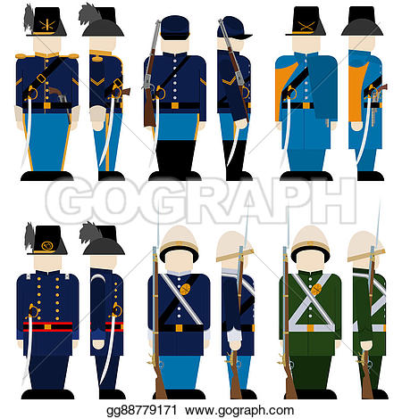 Uniform clipart armed force #11