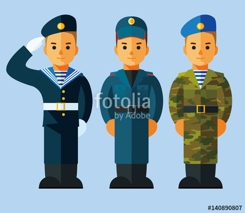 Uniform clipart armed force #5