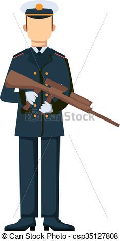 Uniform clipart armed force #7
