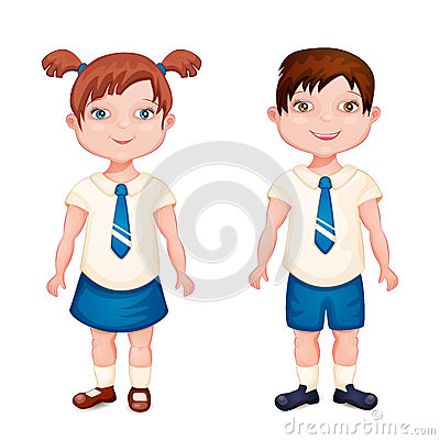 Playground clipart school fun Clipart uniform Girl white collection