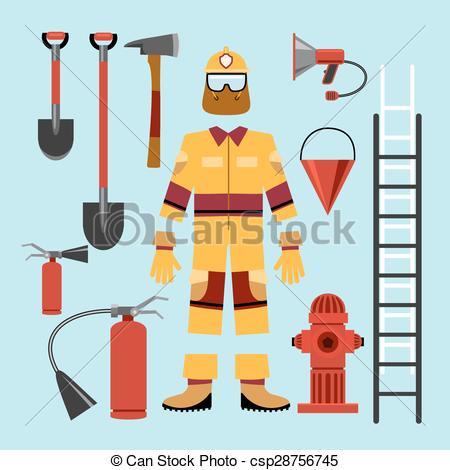 Uniform clipart firefighter uniform Clip art and Flat uniform