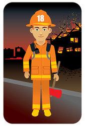 Uniform clipart firefighter uniform Uniform Fire in fighter