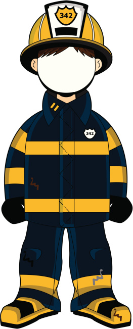 Firefighter clipart fireman uniform Cliparts clipart uniform Zone Cliparts