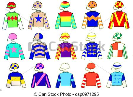 Shirt clipart jockey Jockey fine free  Illustrations