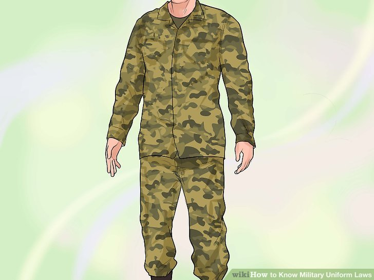Uniform clipart military branch Know Step wikiHow Image Military
