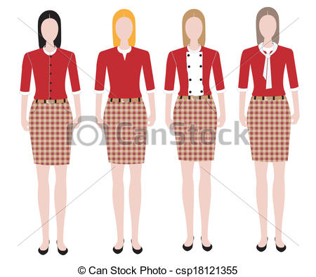 Uniform clipart teacher's Design uniform Woman of Woman