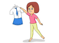 Uniform clipart wear Search Graphics Art Kb Fashion