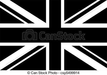 Union Jack clipart 13  Black Stock &