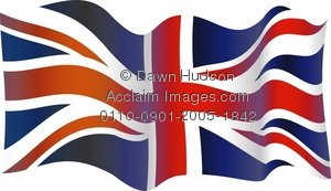 Union Jack clipart british flag Wavy flag a clipart collection