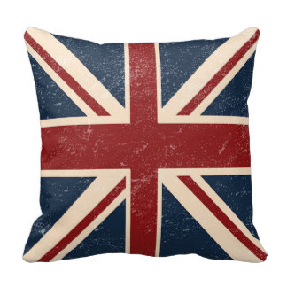 Union Jack clipart british flag British Decorative Pillow Jack British