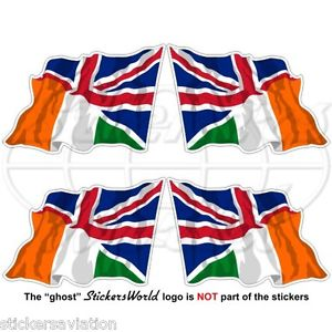 Union Jack clipart flying Irish Flag UK Flying Kingdom