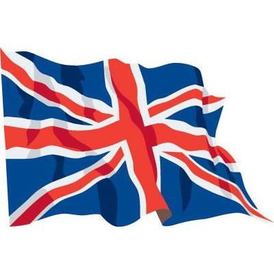 Union Jack clipart flying VALUE bunting frames flags Flagpoles