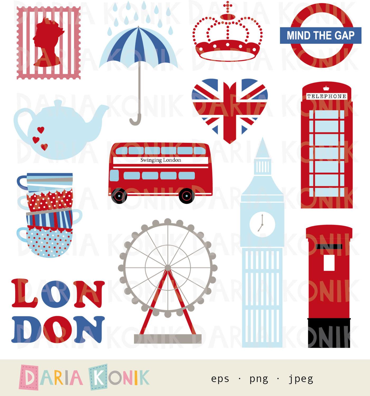 London Eye clipart Clipart Great Set UK city