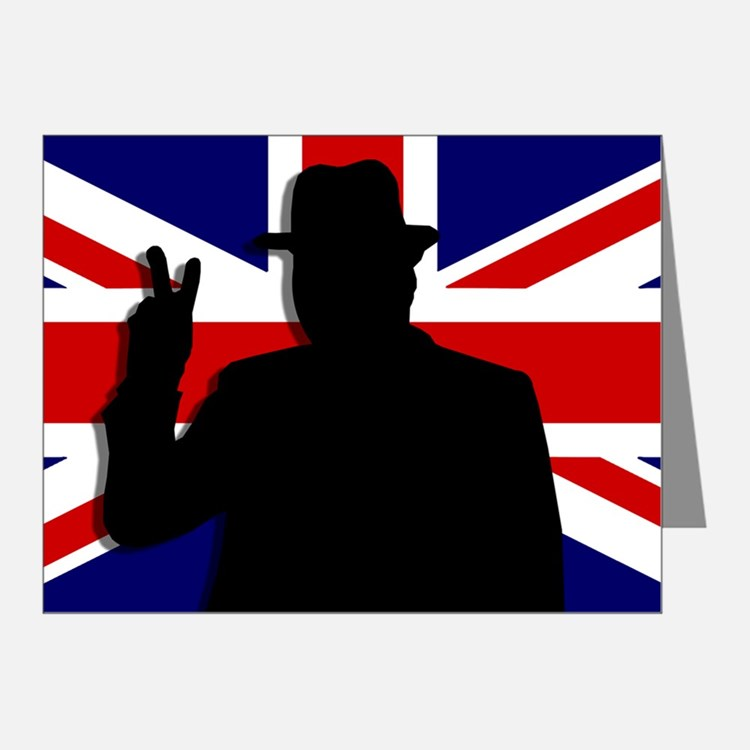 Union Jack clipart british flag Note You Churchill Victory Deserve