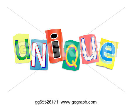 Unique clipart GoGraph letters printed of gg65526171