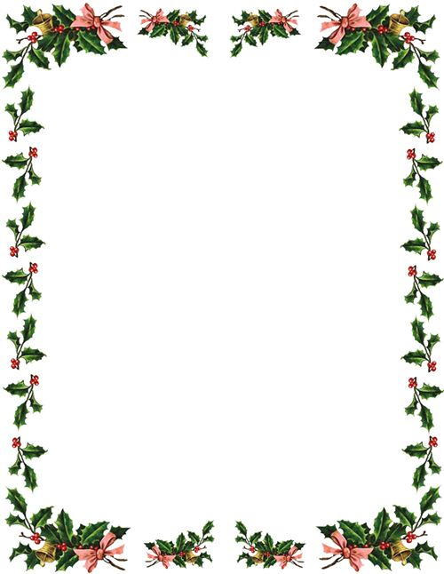 Merry Christmas clipart frame Borders Clipart  Free Free