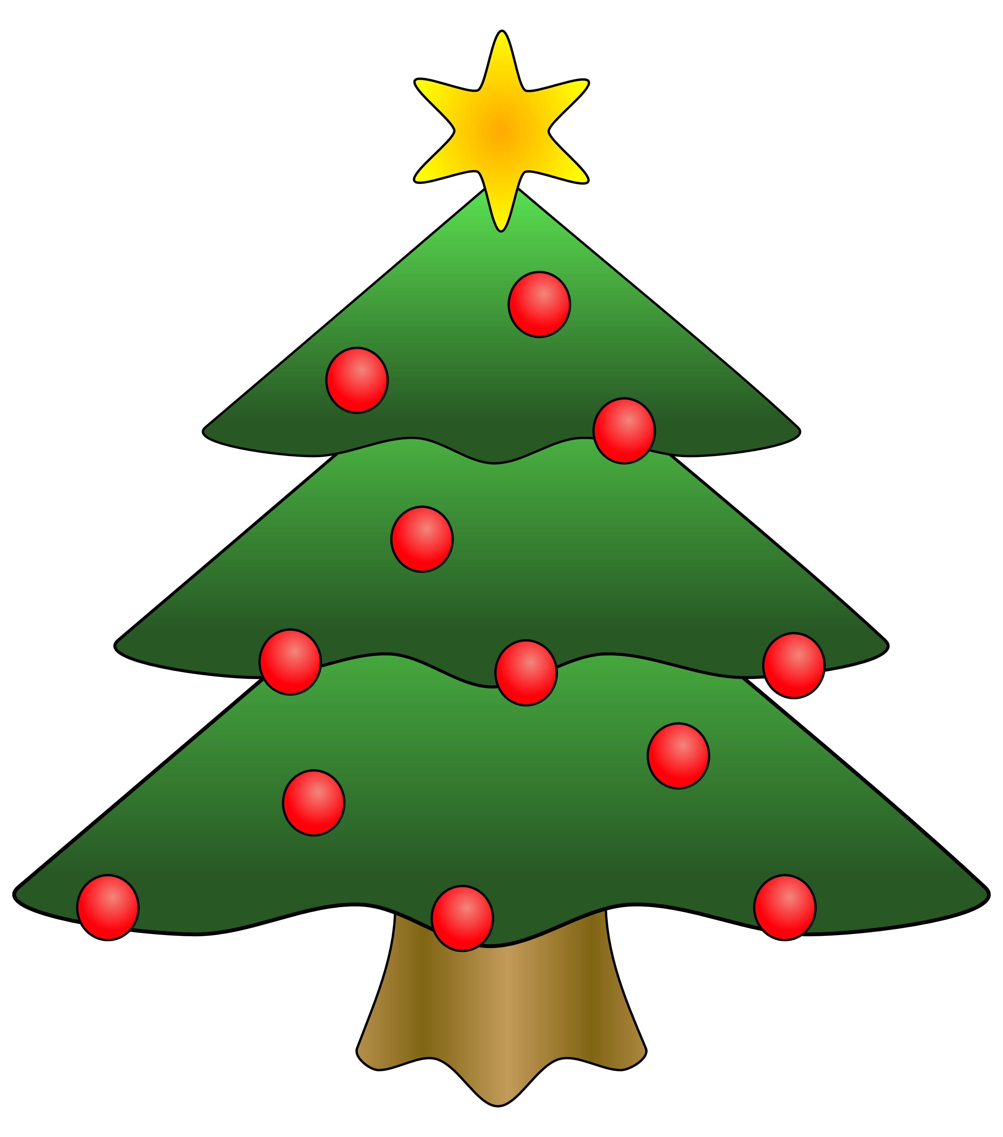 Christmas Tree clipart xmas tree Clipart%20christmas%20tree%20with%20presents Free Clip Art Images