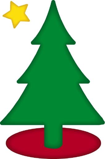 Christmas Tree clipart simple Natal christmas tree tree