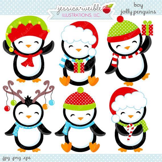 Penguin clipart reindeer Free Clipart clipart penguin Christmas