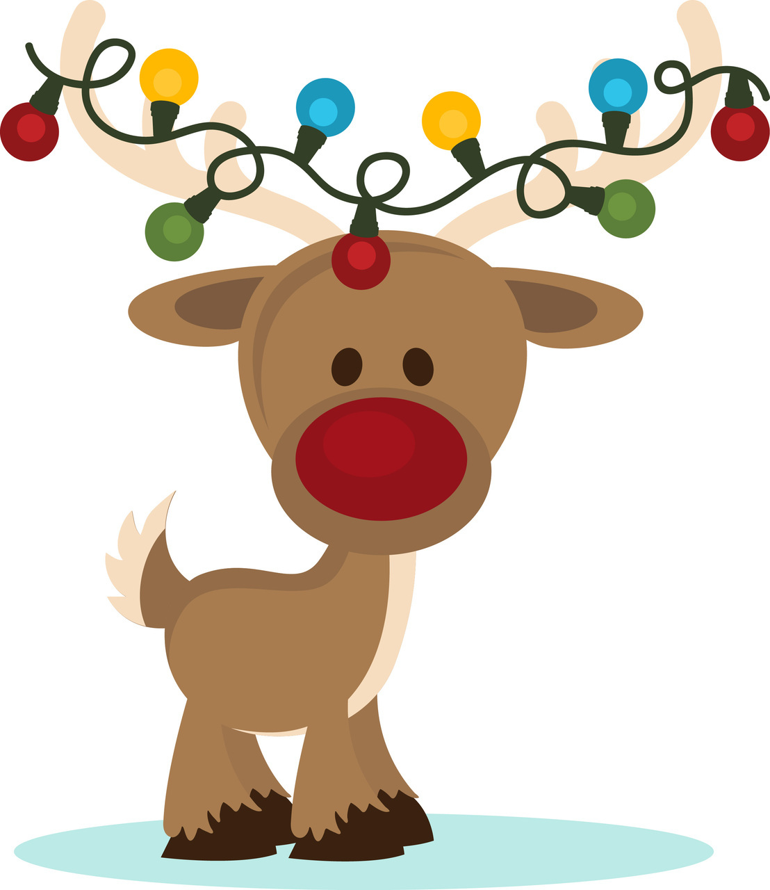 Christmas Lights clipart cute PPbN Reindeer Designs Lights Reindeer