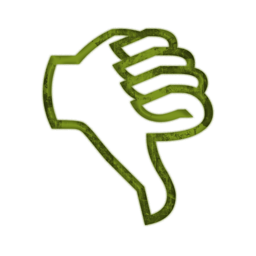 Unique clipart hand down #9