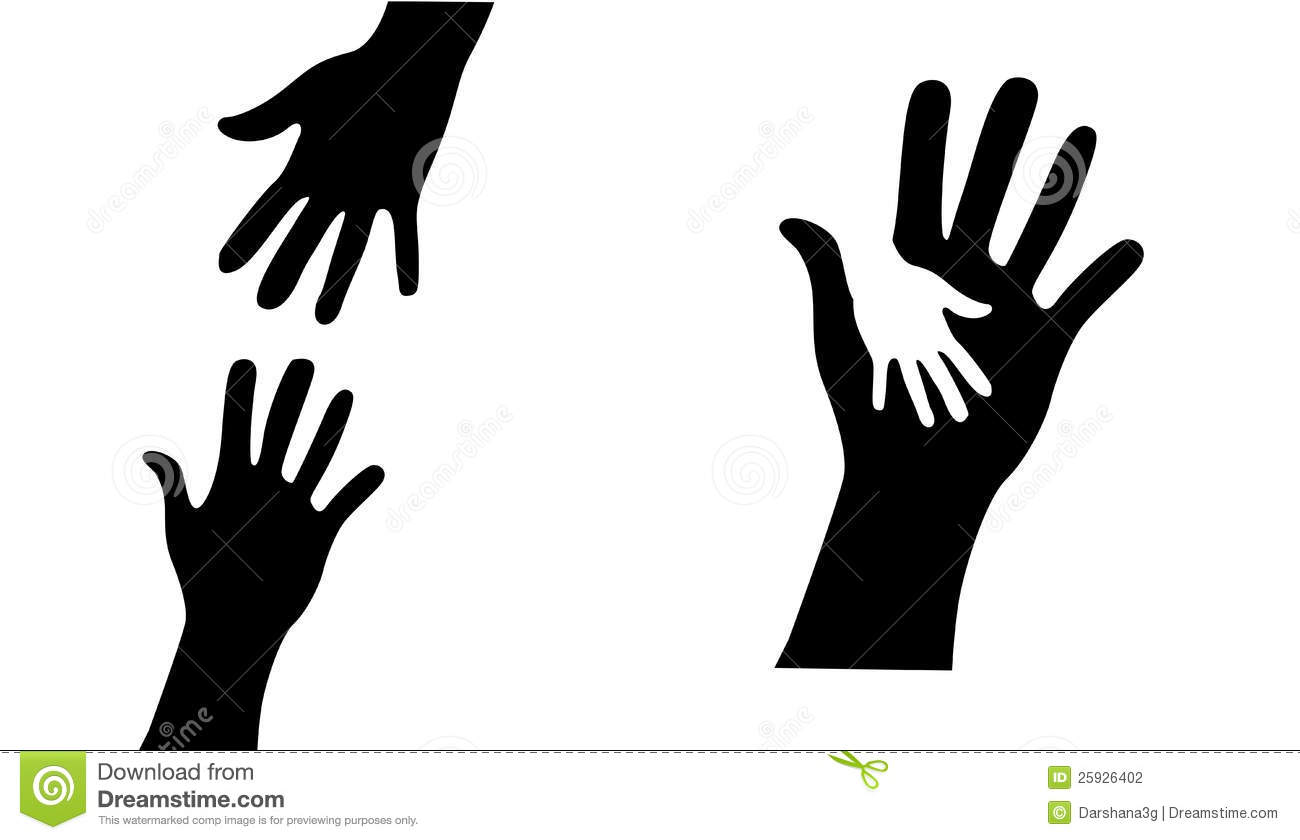 Hand Helping Collection hands vector