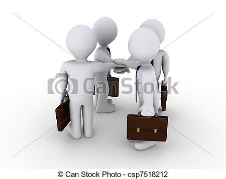 Taking businessmen free and Businessmen