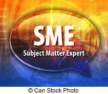 Unique clipart subject matter expert Definition Stock bubble Acronym of