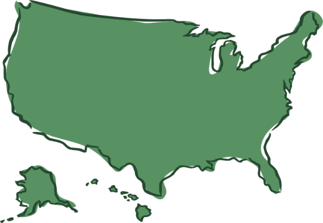 United States clipart And map and Collection
