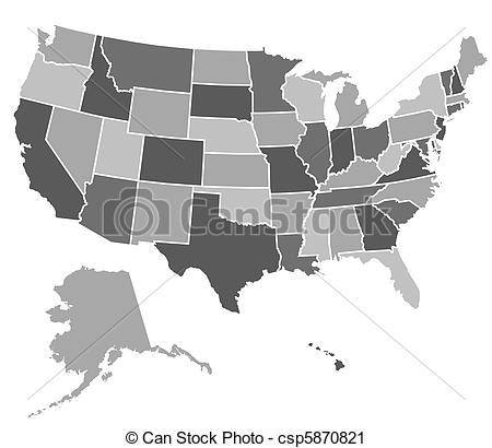 United States clipart icon vector Clip United of of United