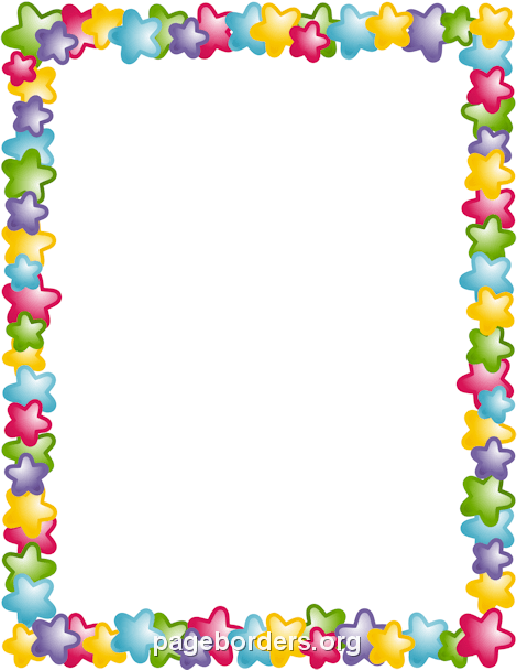 Planet clipart border Vector and Graphics Page Border